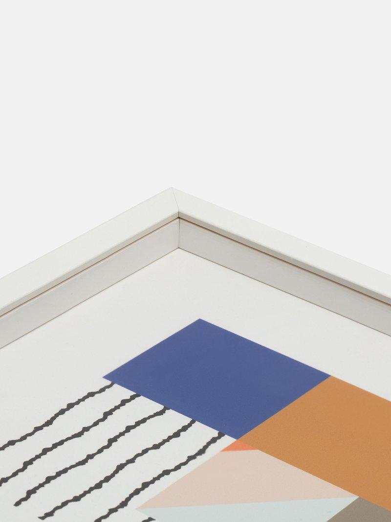 inside of framed art print