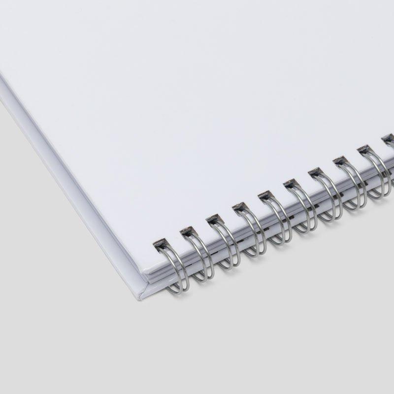 Custom Notebook spiral details