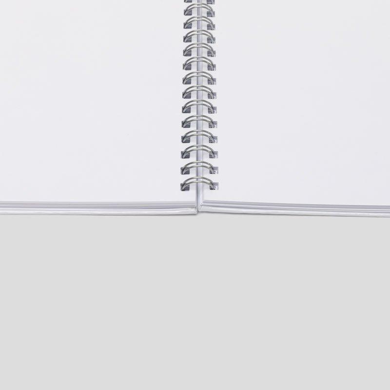 Custom Spiral Bound Notebook inside pages