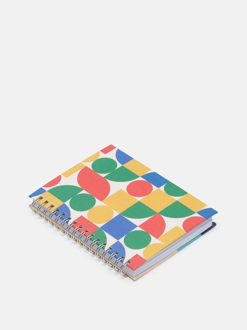 stampa su notebook a spirale