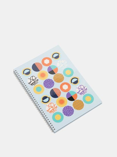 Impression sur cahier à spirales