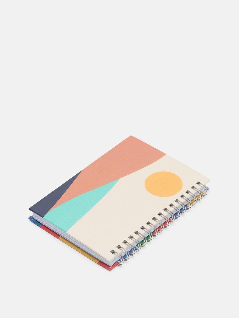 notebook con spirale personalizzato