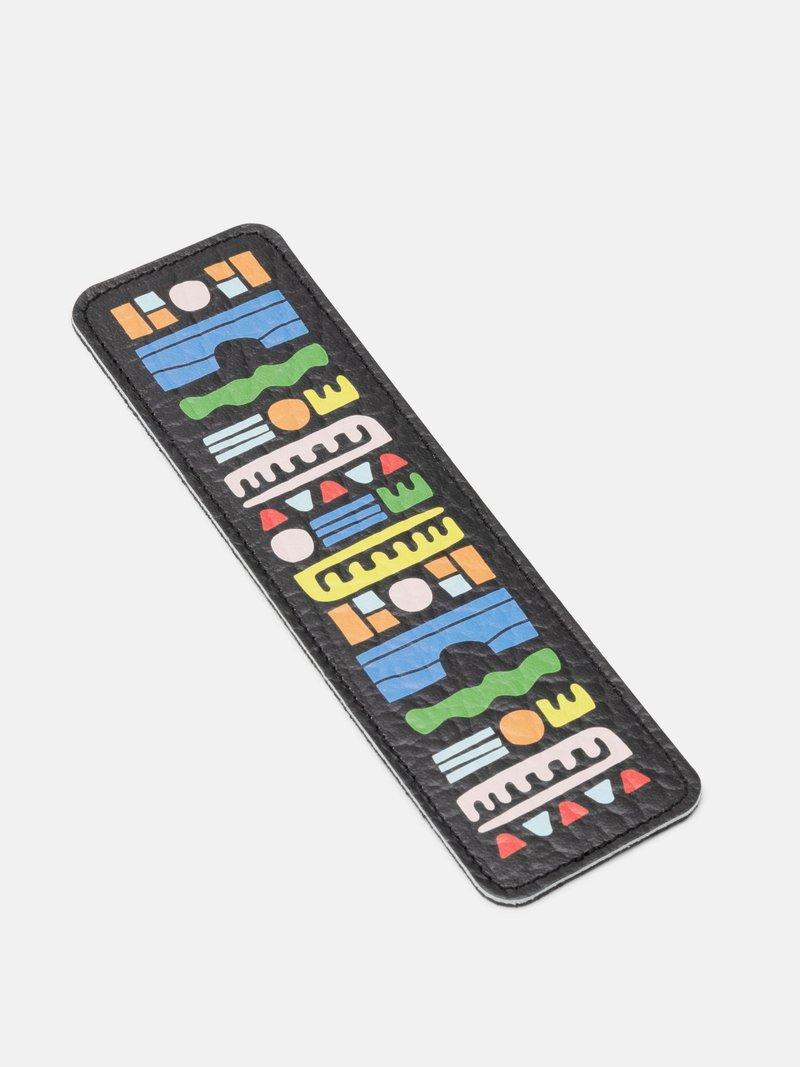 オリジナル レザーブックマーク