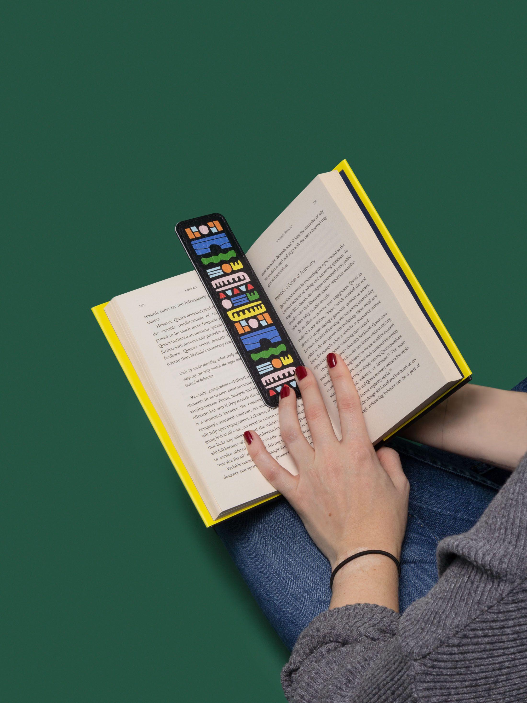 レザーブックマーク オリジナルデザインを印刷