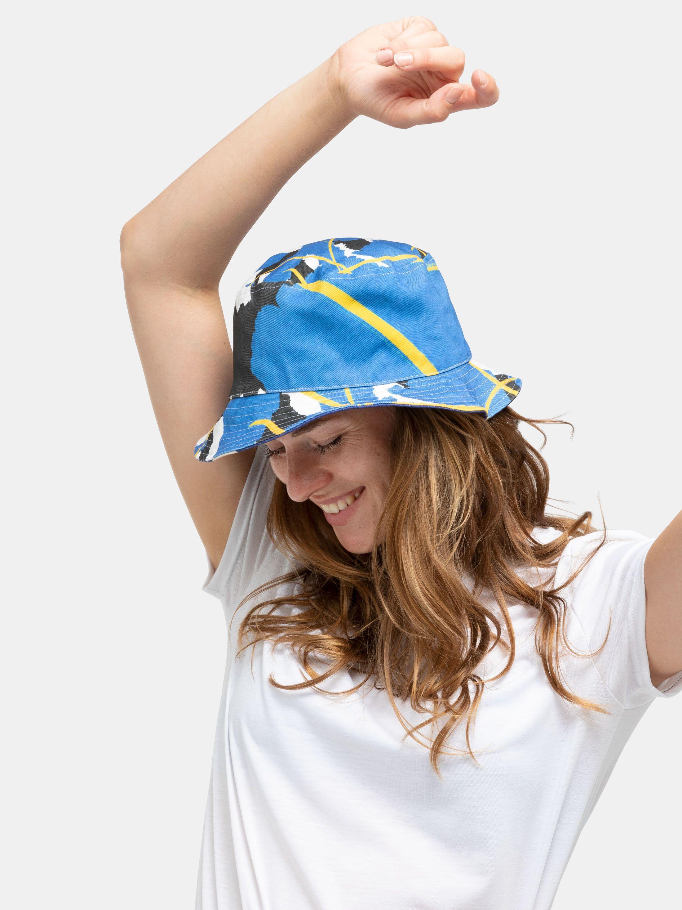 Cappello da pescatore personalizzato in tela cerata