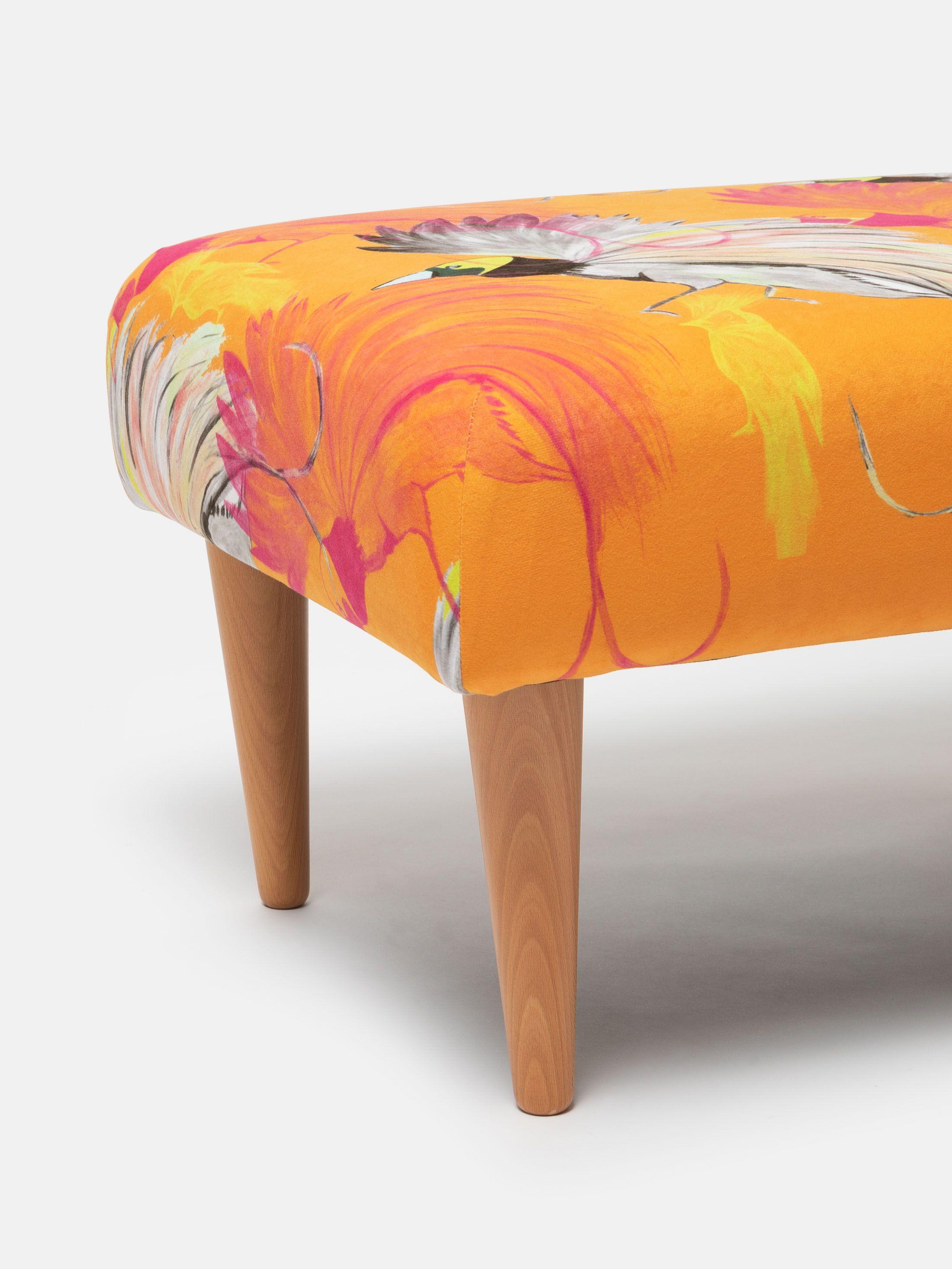 bespoke footstools handmade in UK