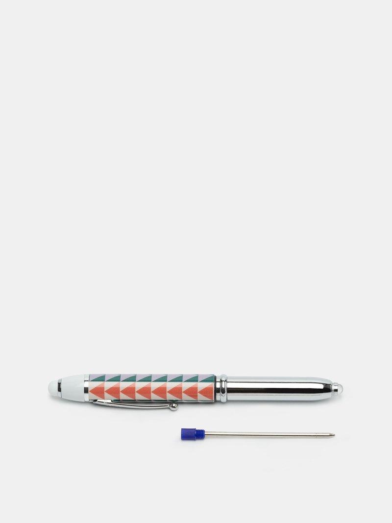 Zoom sur le stylo torche original