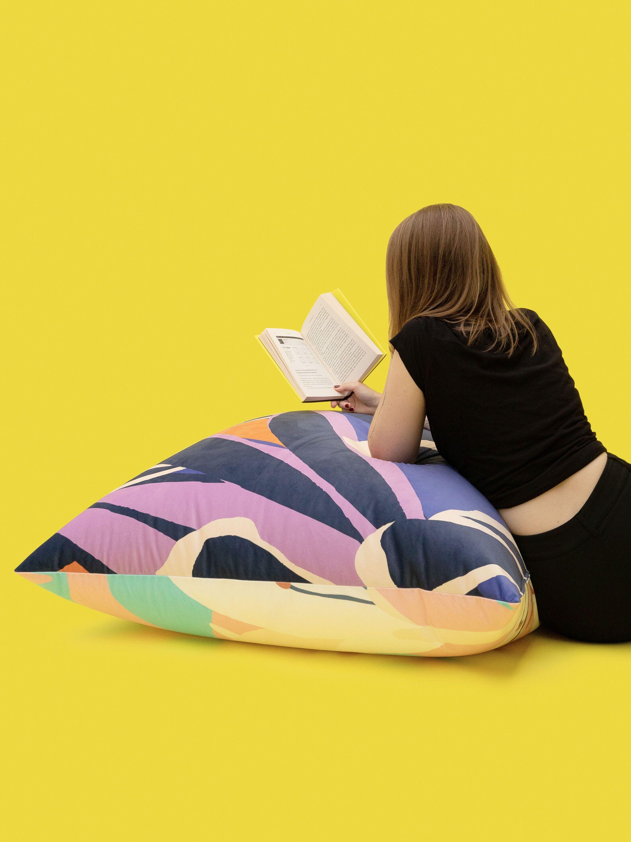 custom large floor cushions cover