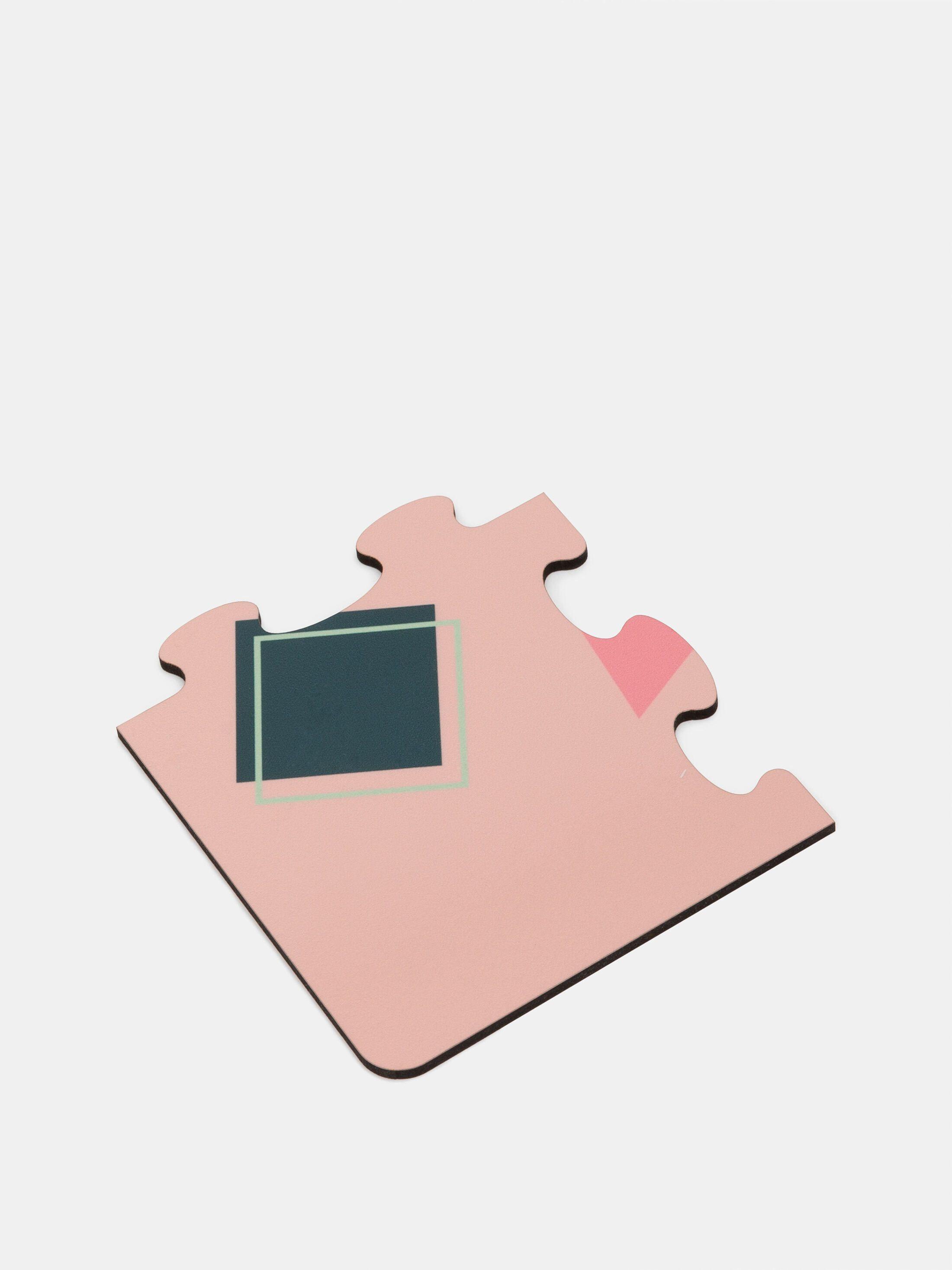 custom printed coaster puzzle