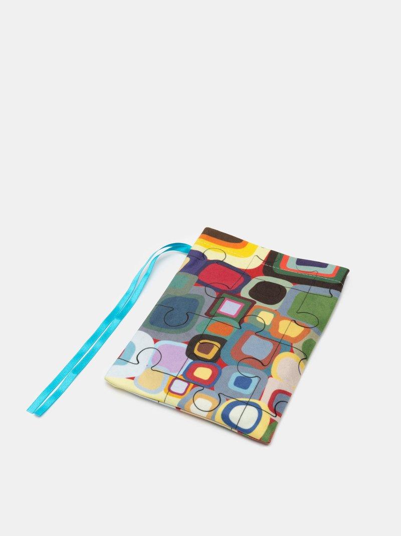 custom coaster puzzle gift bag