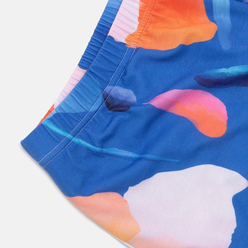 ladies pajama shorts detail