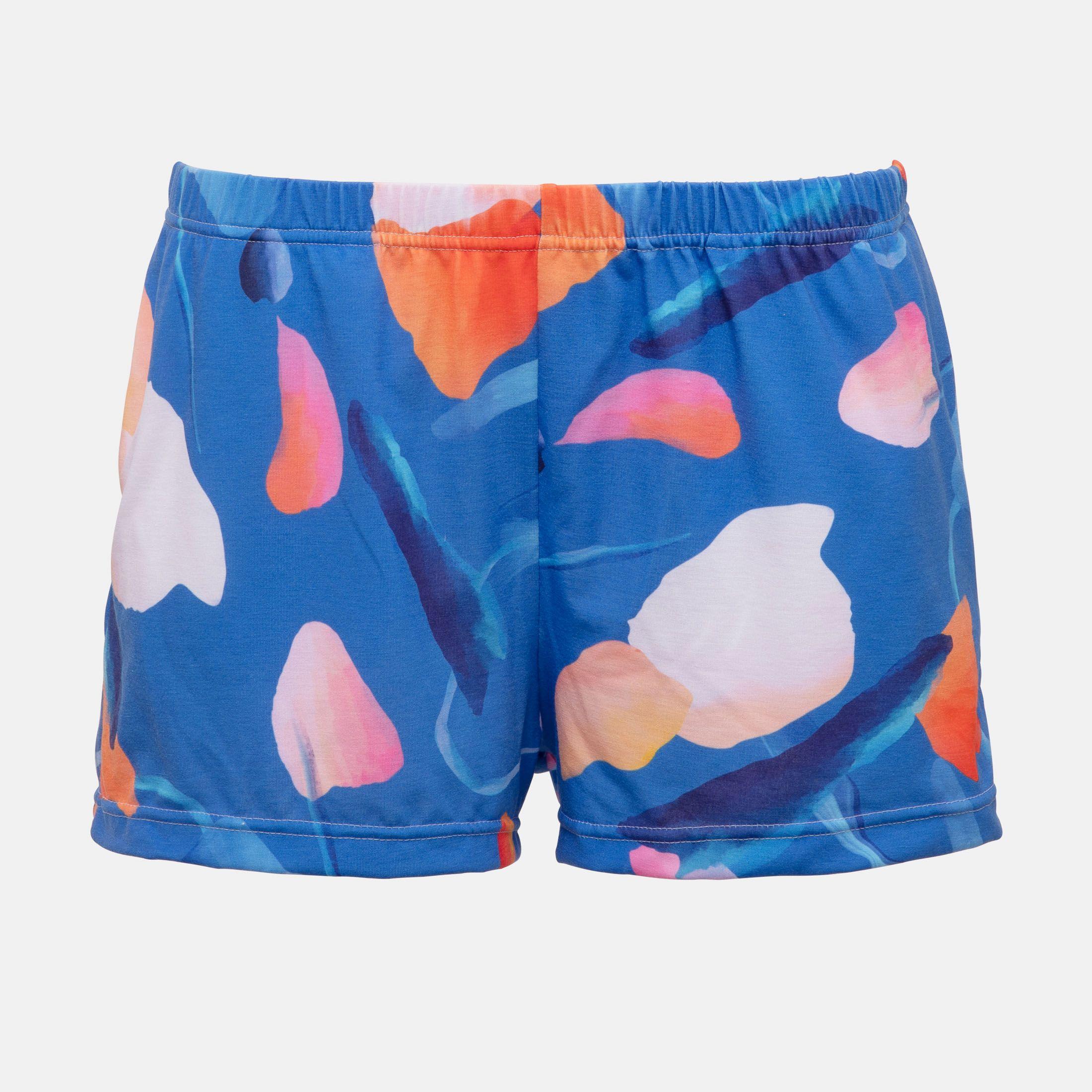 custom printed pajama shorts
