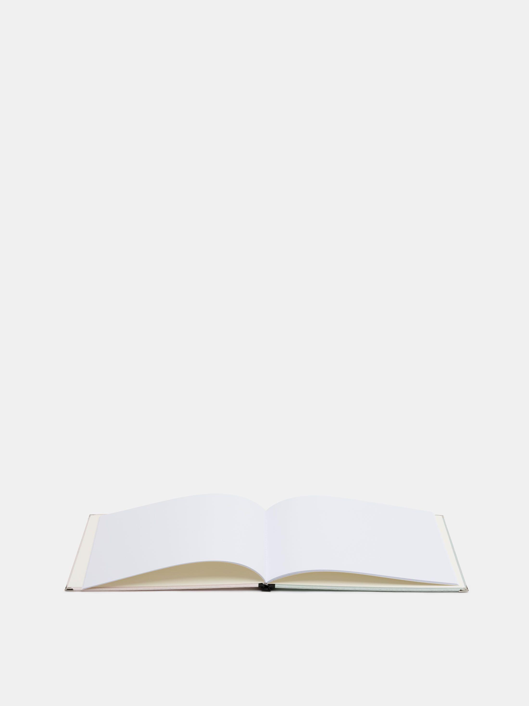 ruled columns for bespoke wedding guest book