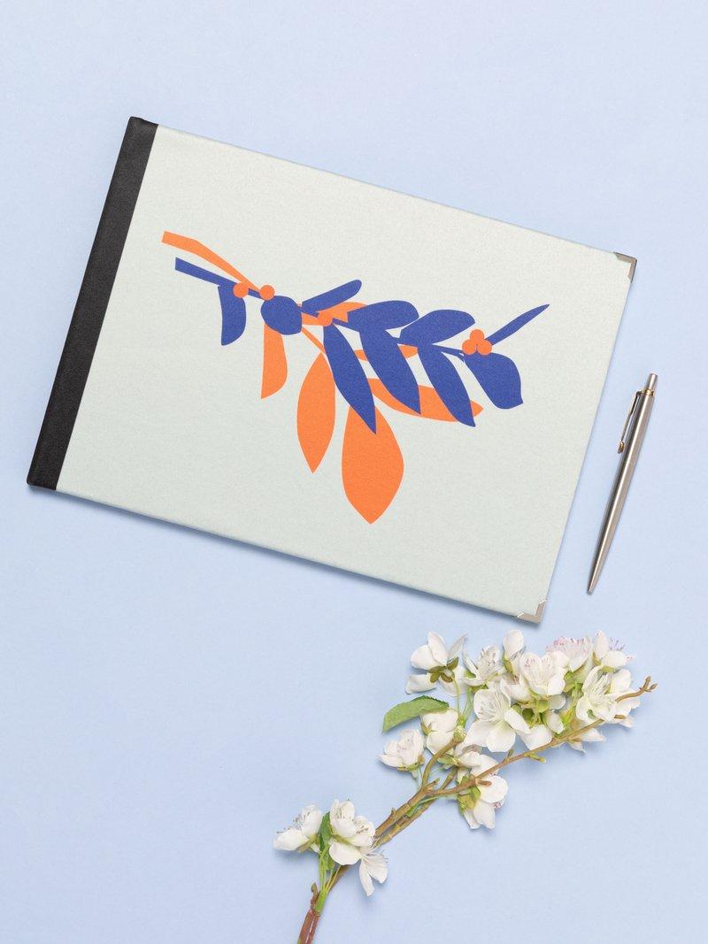 guest book wedding presentation box