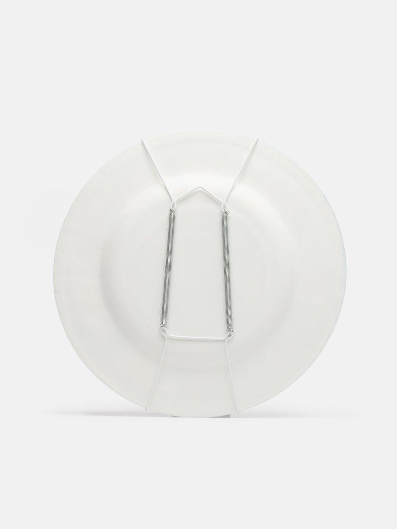 Retro del piatto decorativo personalizzato