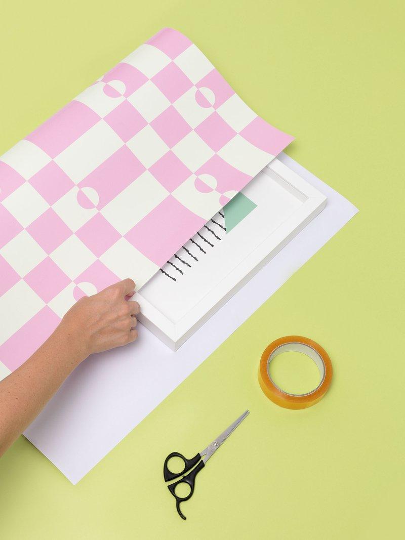 geschenkpapier selber gestalten