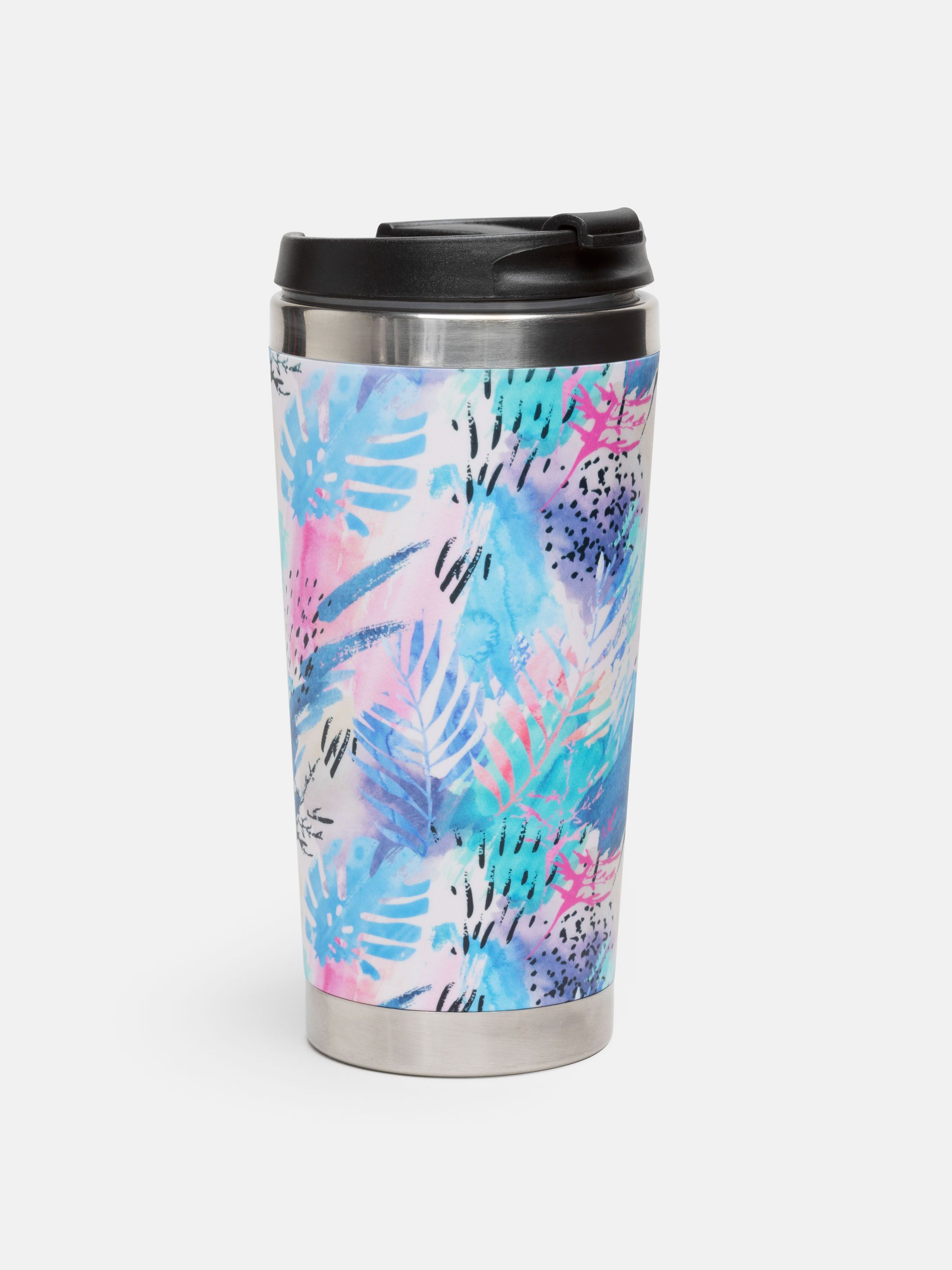 Custom designer travel mug