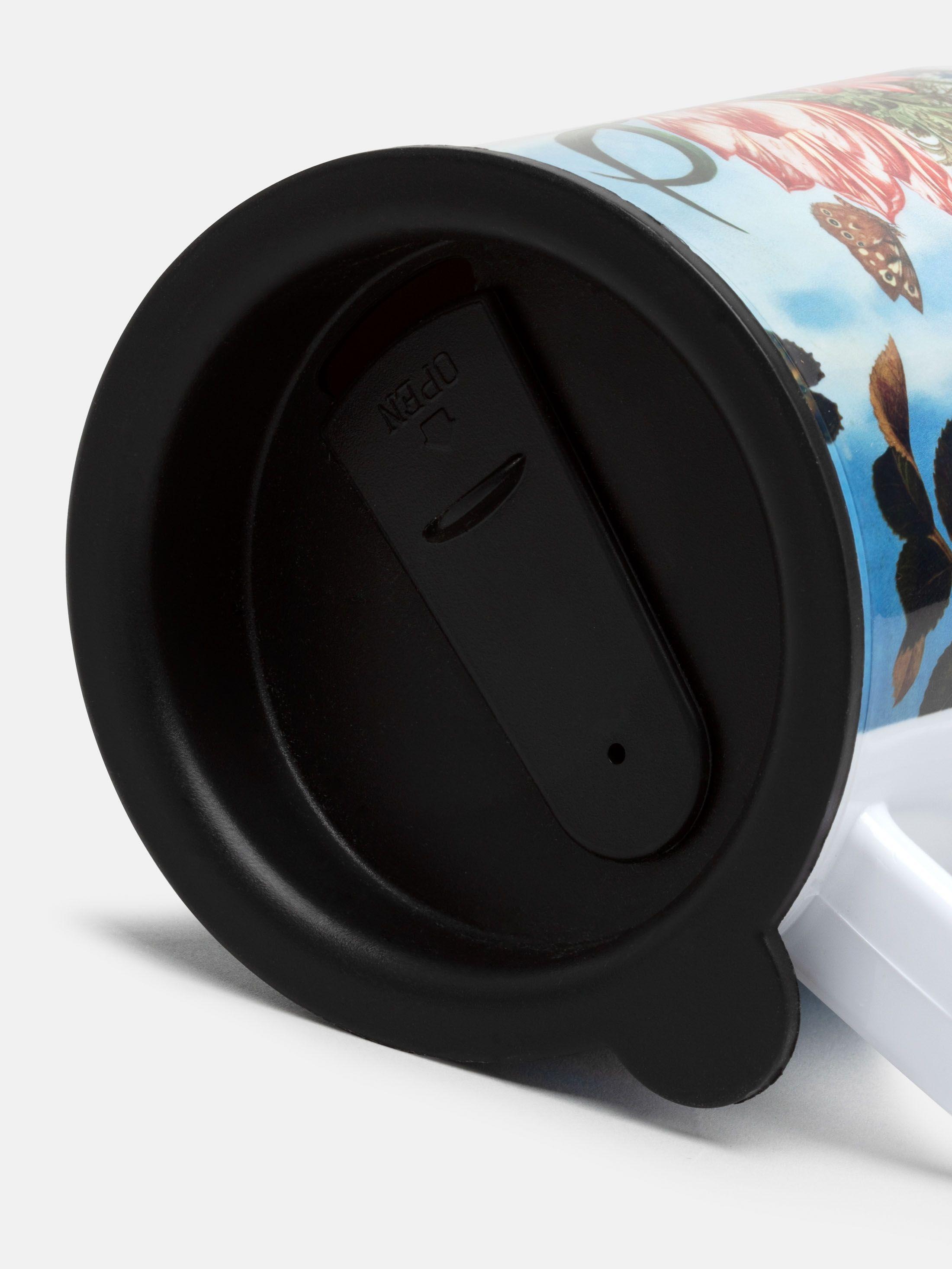 Mug lid rubber sealing travel mug