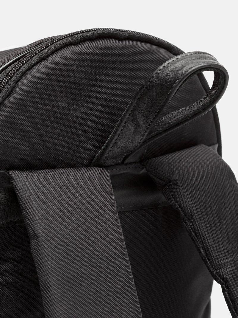 Détail du sac à dos personnalisé avec design