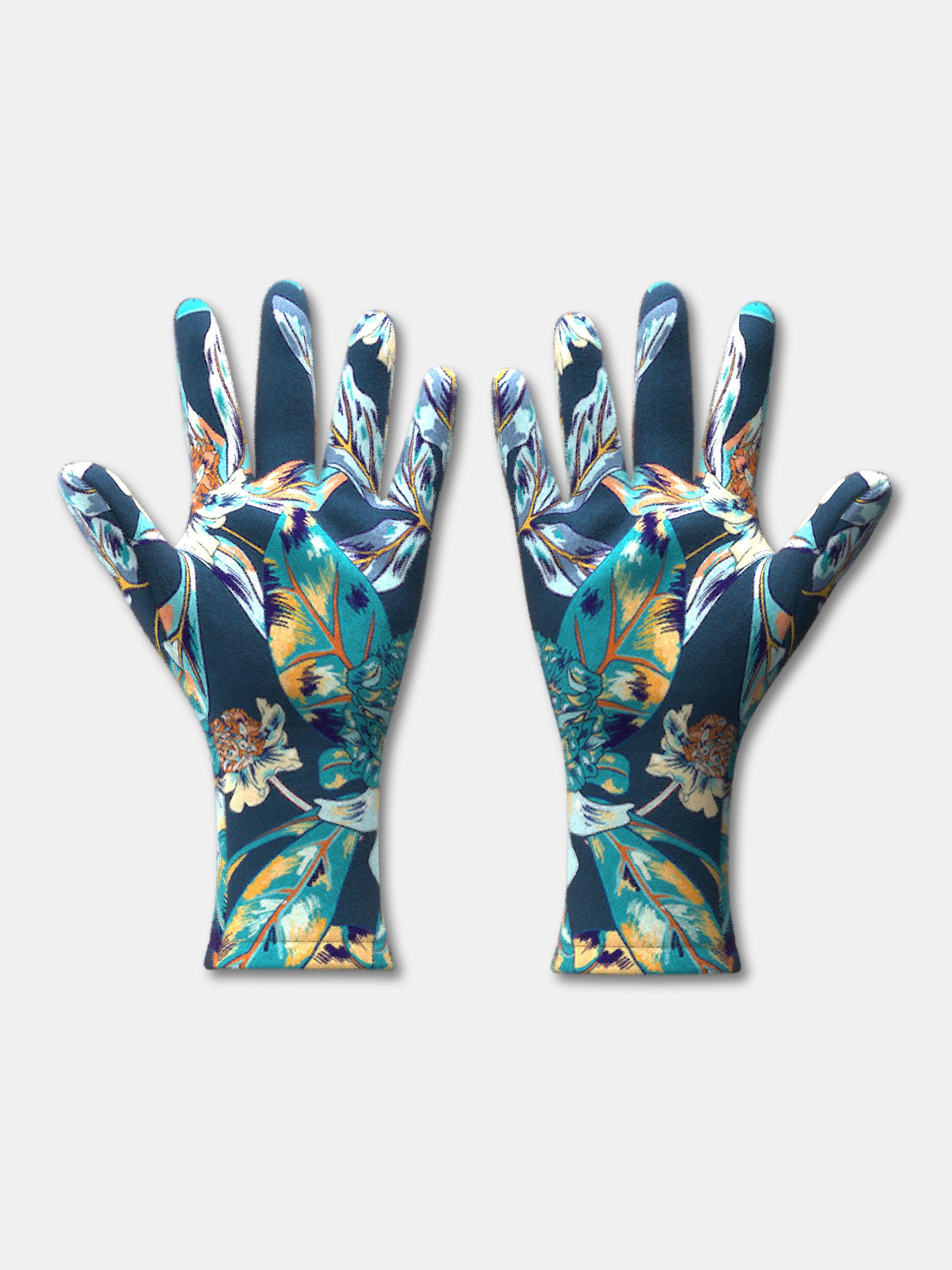 Fleece Handschuhe selbst designen