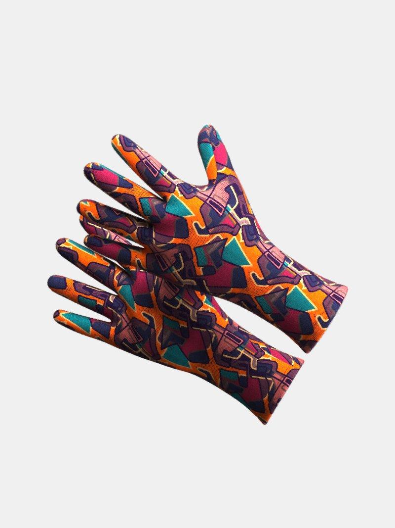 冬用手袋 印刷