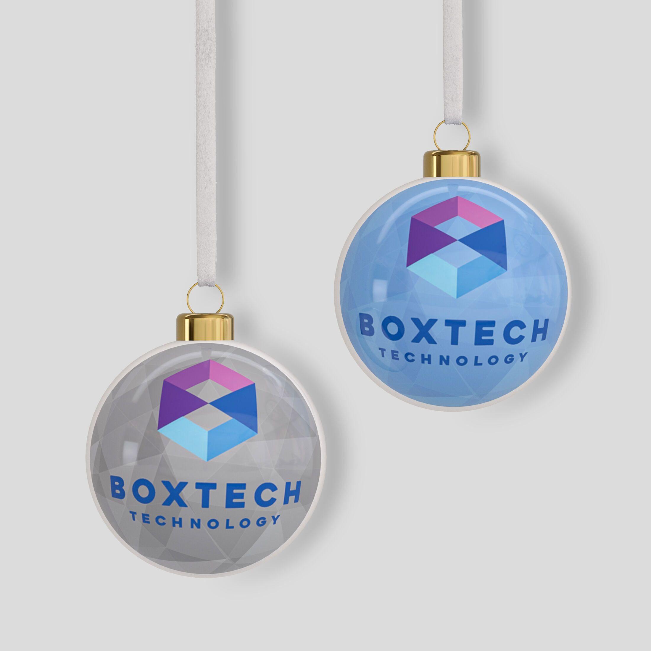 Crea Palline di Natale con Logo