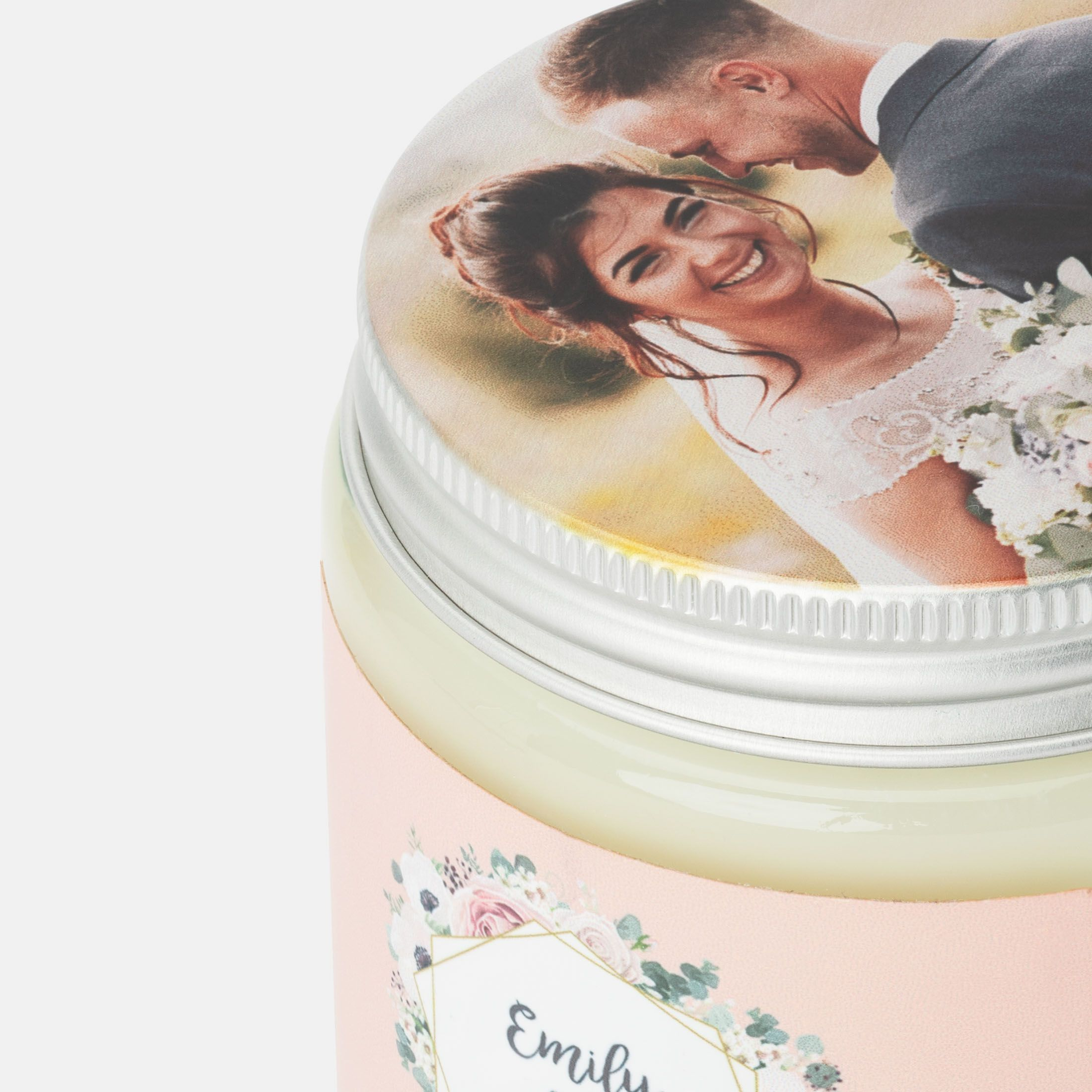 candle with photo uk