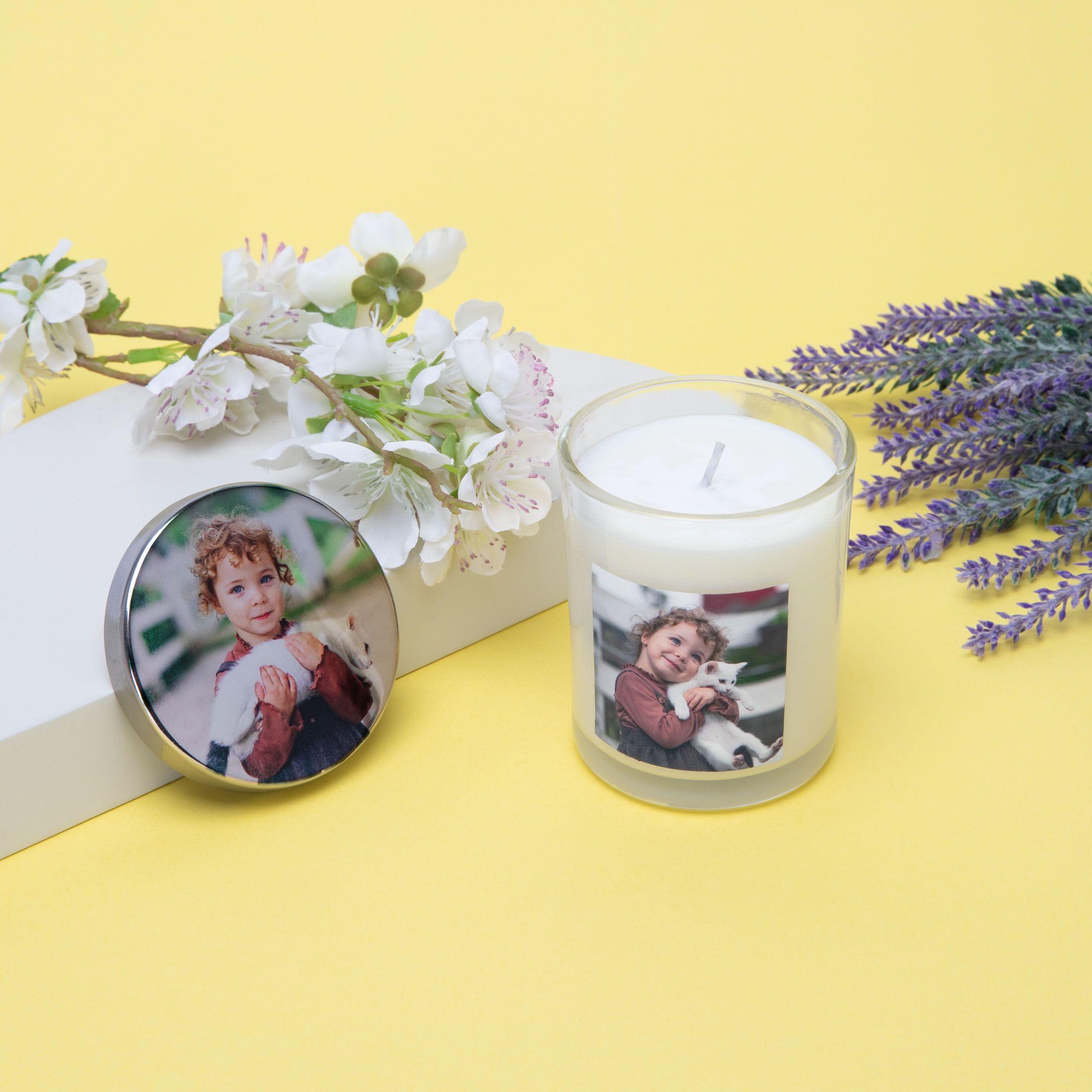 ontwerp gepersonaliseerde kaarsen