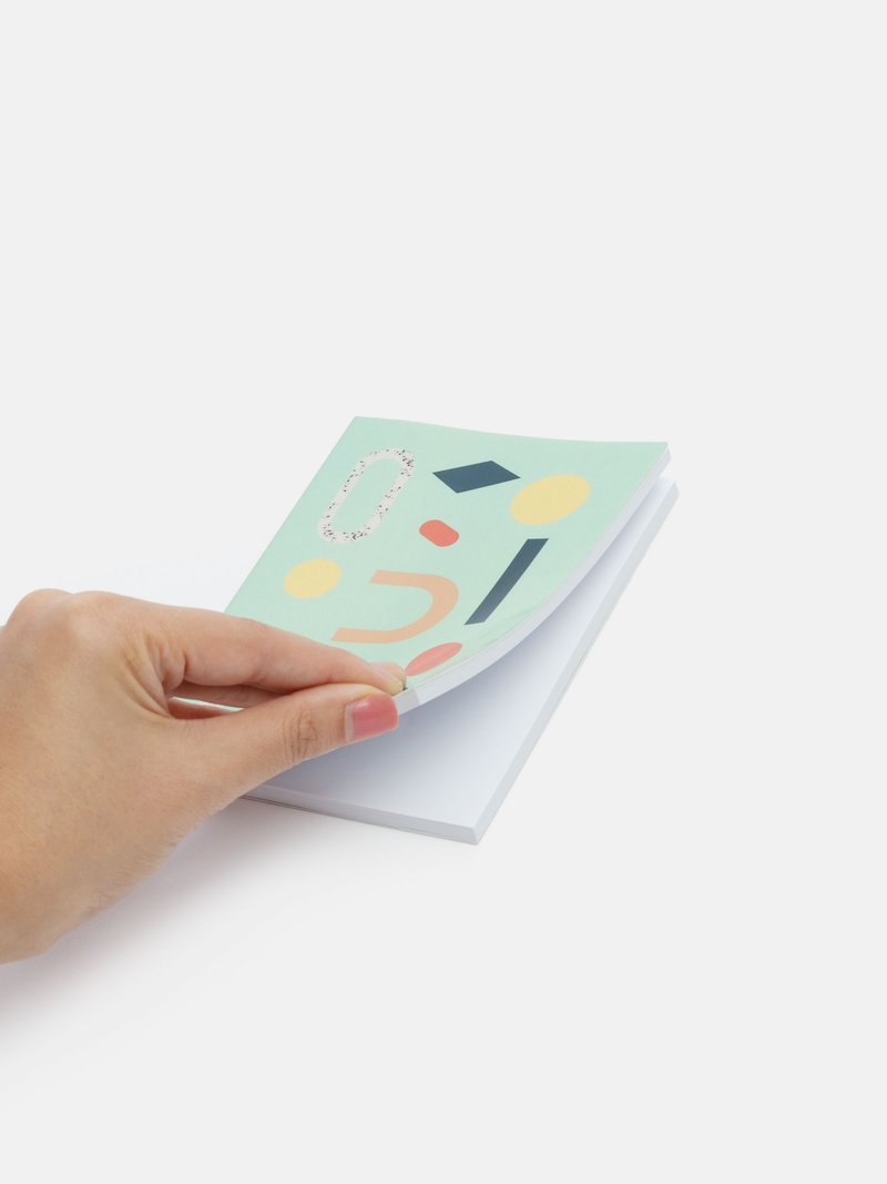 Votre design sur le carnet de note original