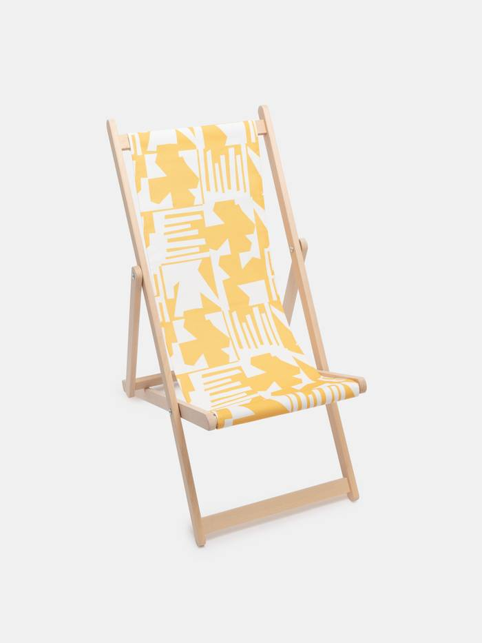 デッキ椅子 デザイン
