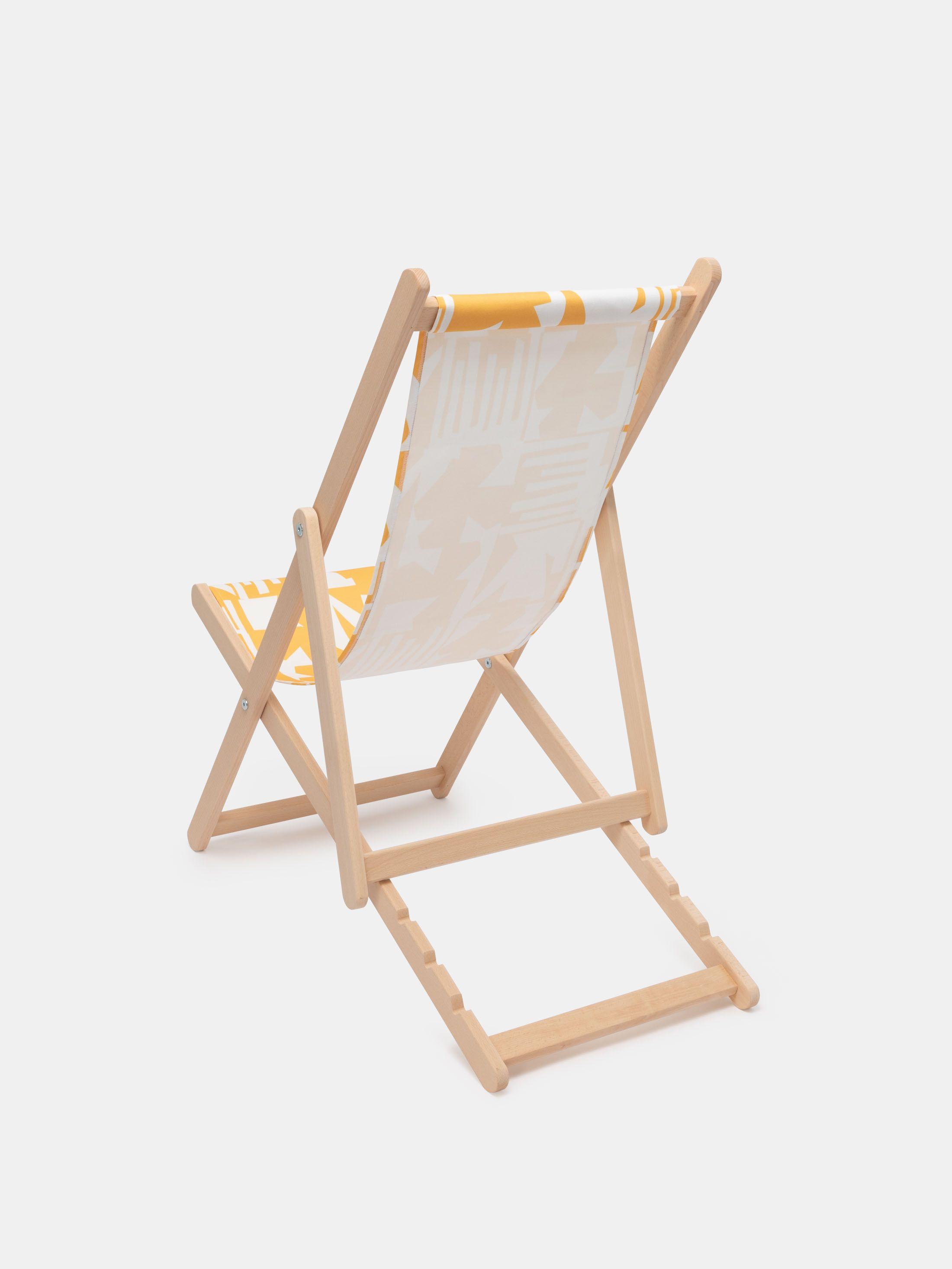 personalisierter liegestuhl
