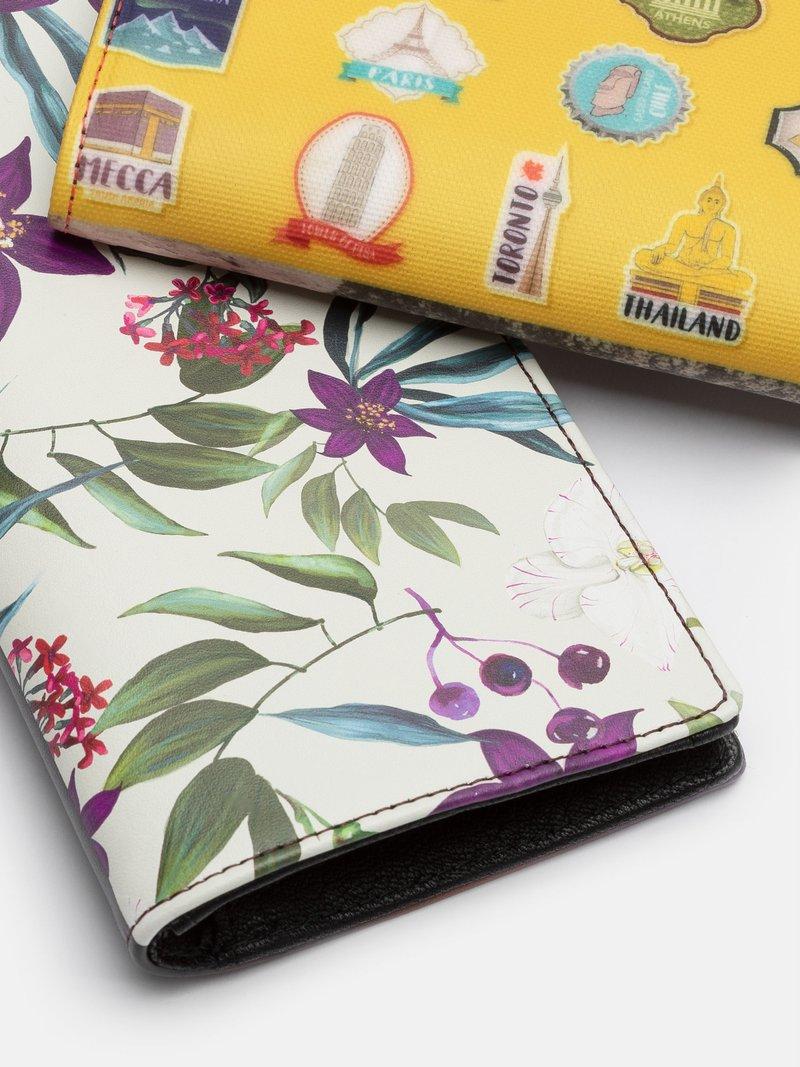 Portefeuille personnalisé en couleur