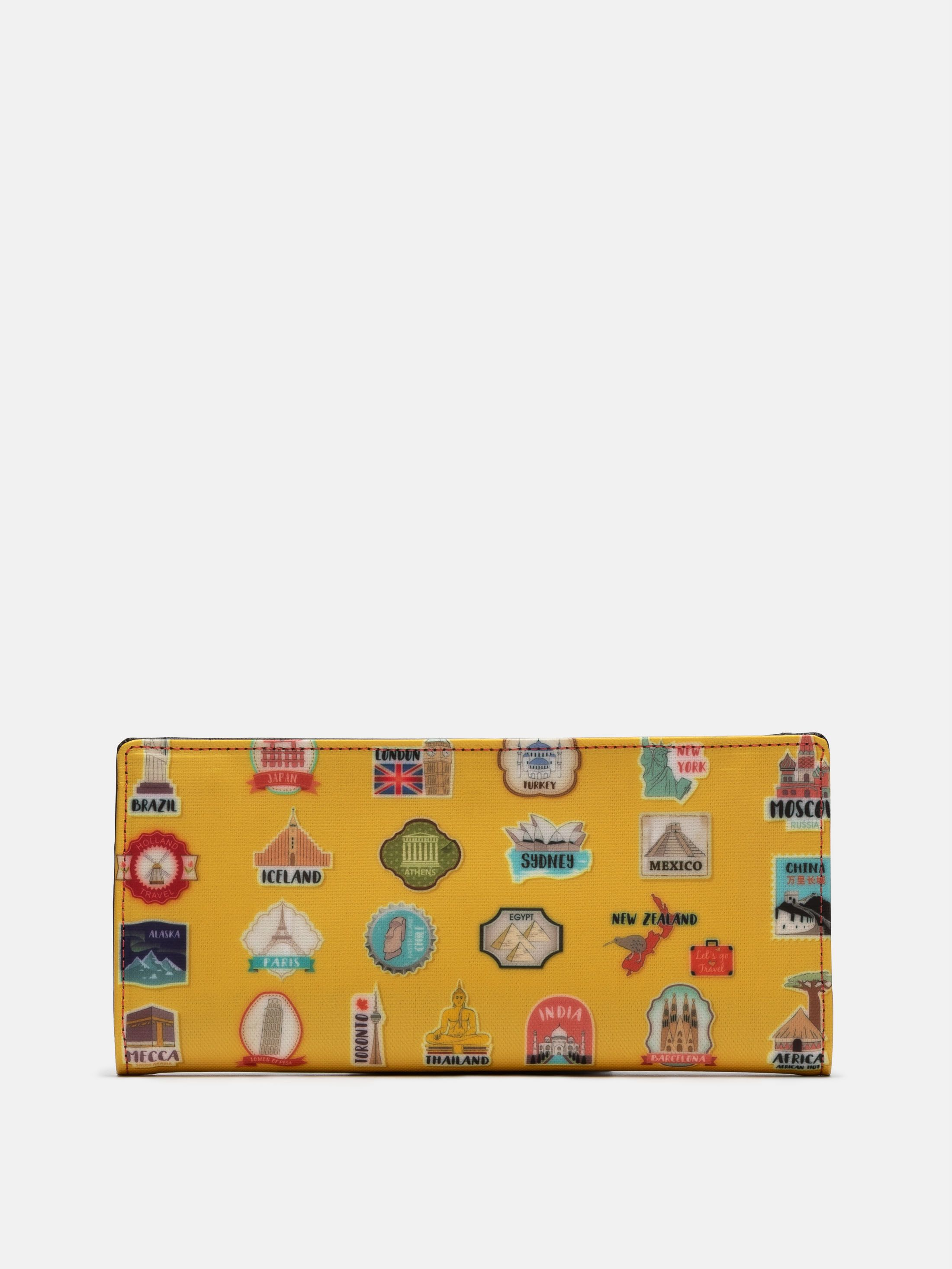 custom travel wallet options