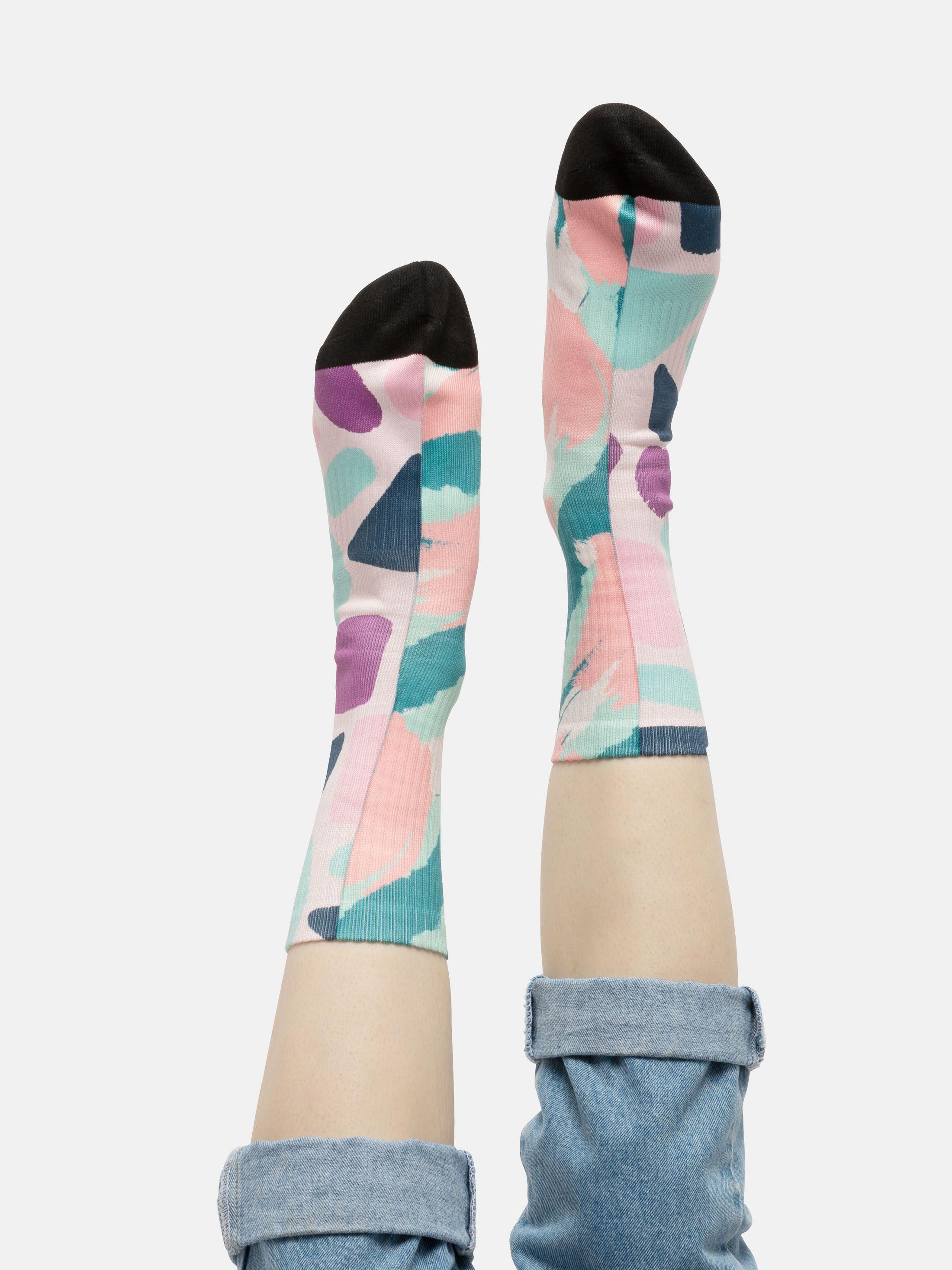 靴下 デザインプリント