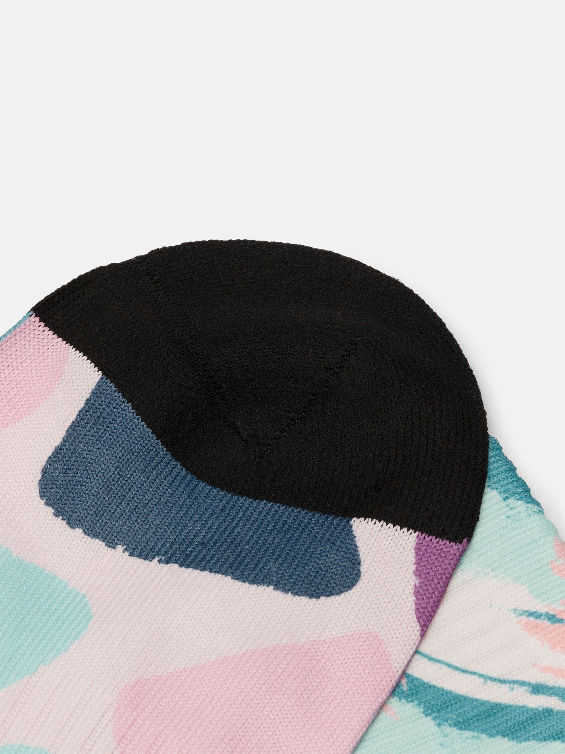 custom printed socks visible line