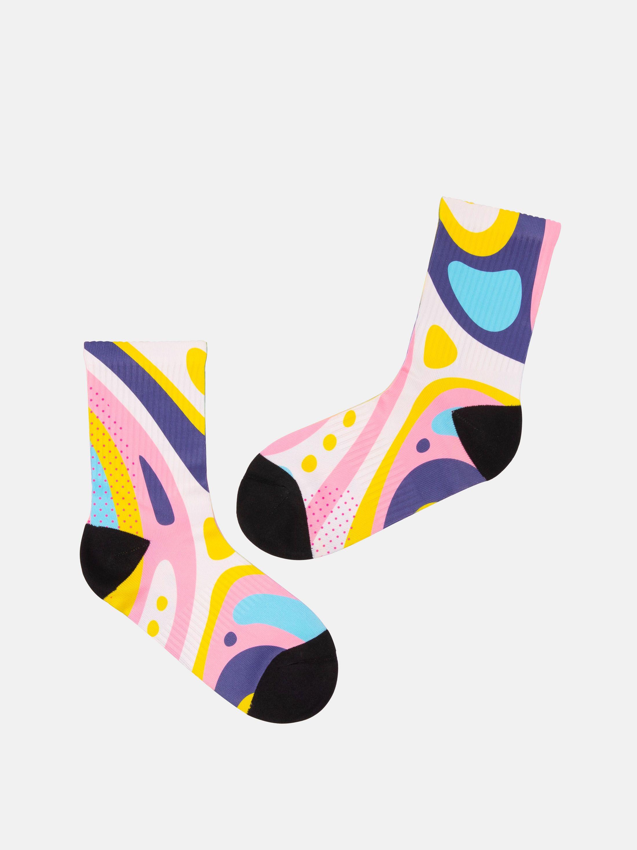 印刷 靴下
