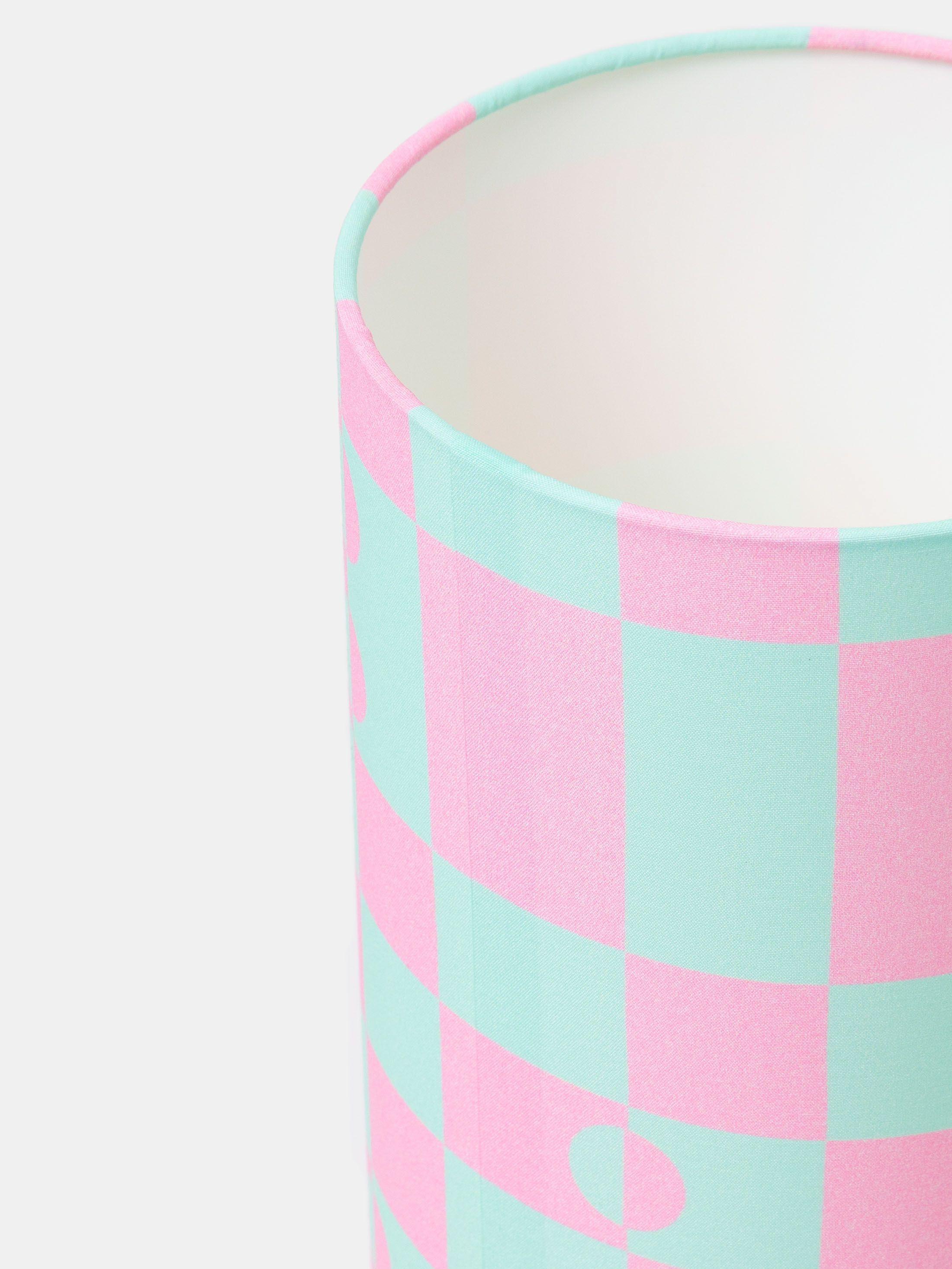 lampe personnalisable design bleu