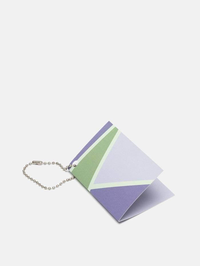 folded swing tag