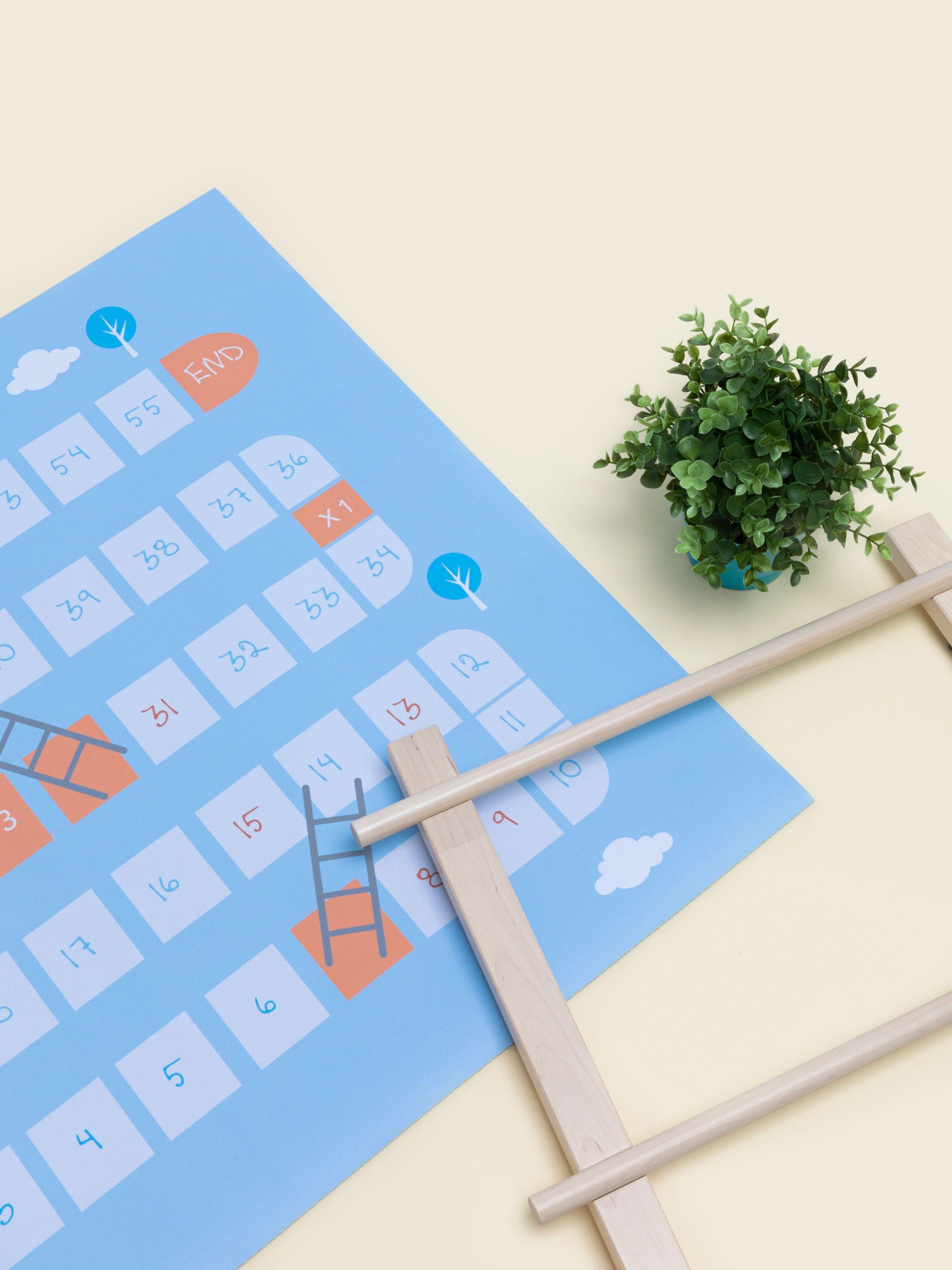 Impression sur tapis de jeu avec carte du monde