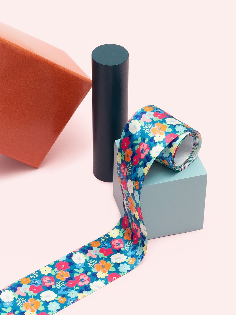 Ribbon Custom printed boxes