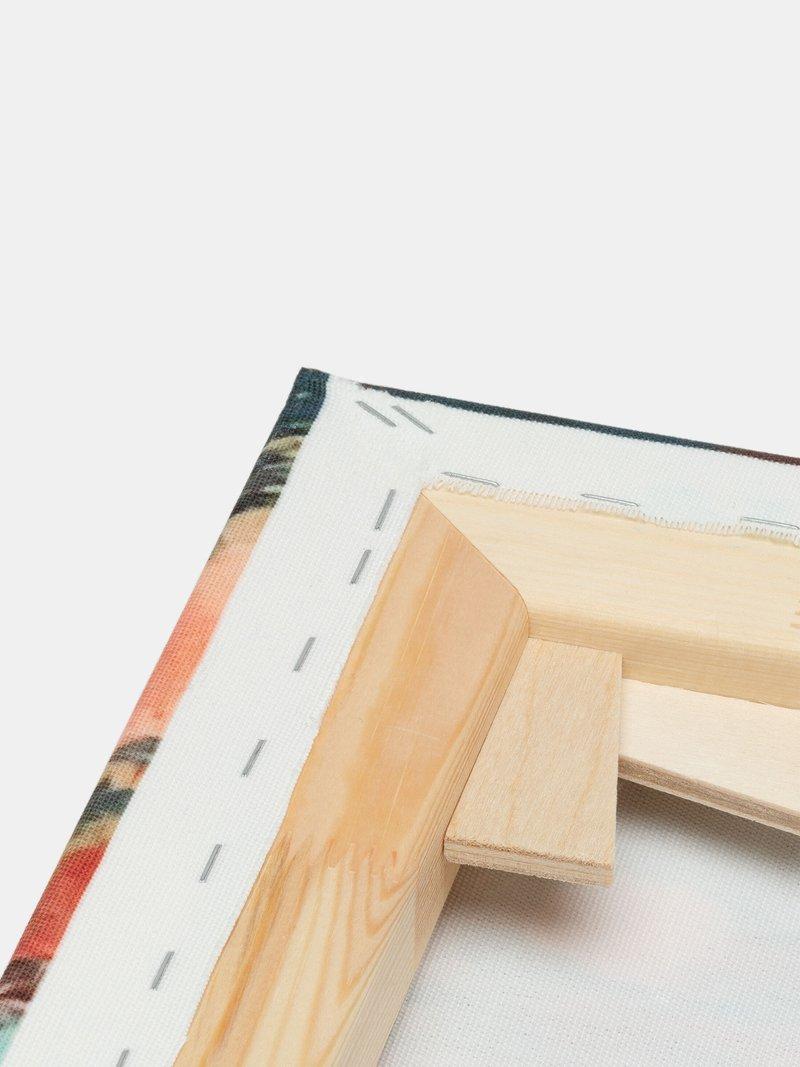 houten frame gepersonaliseerd meerluik
