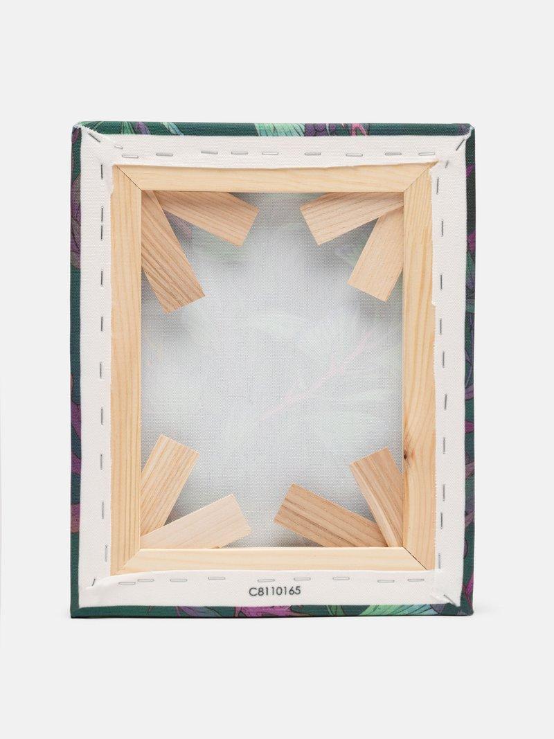 framed canvas back texture