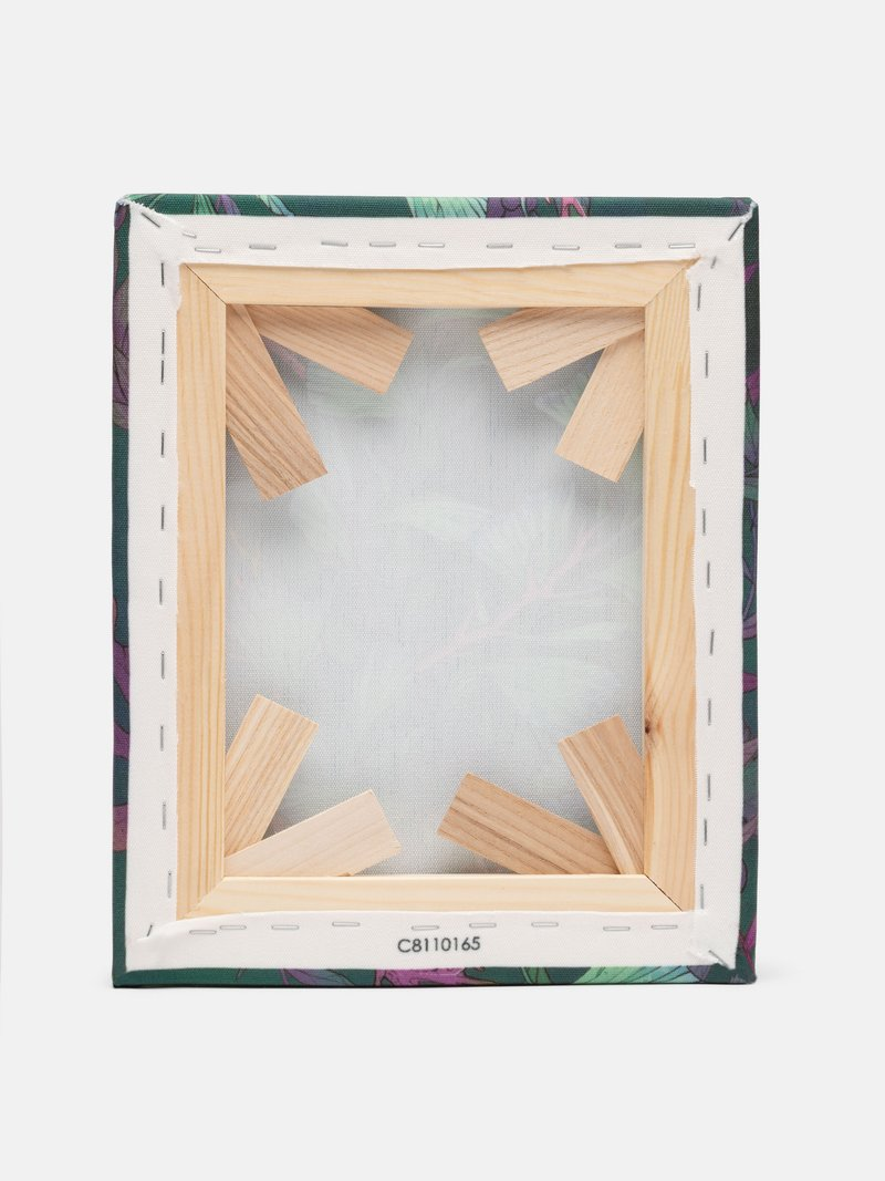 texture des toiles imprimées