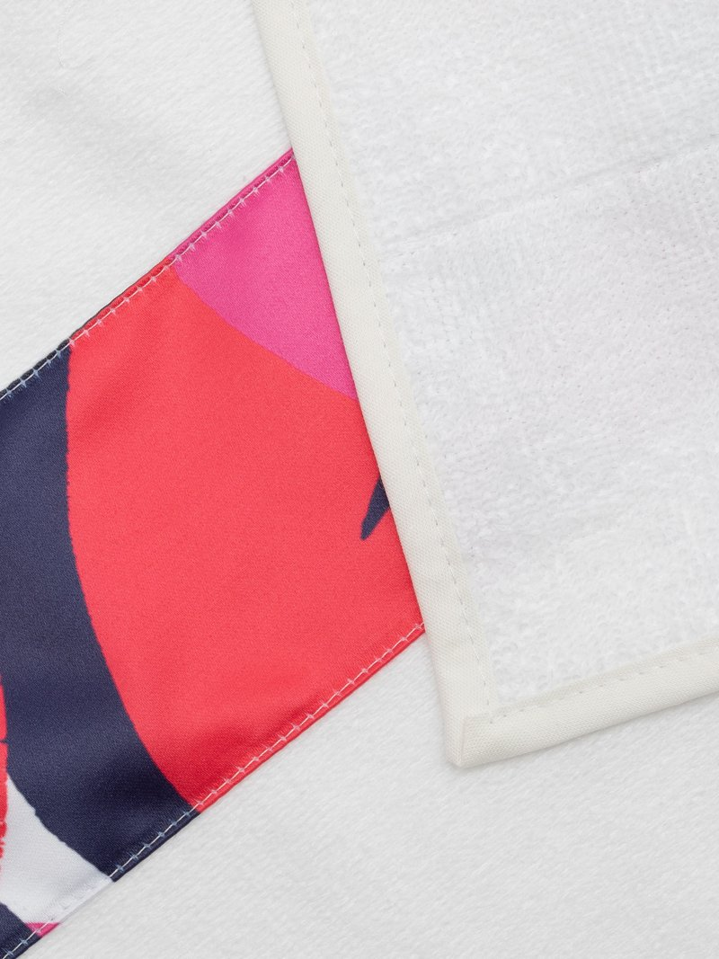 gepersonaliseerde badhanddoeken met strook