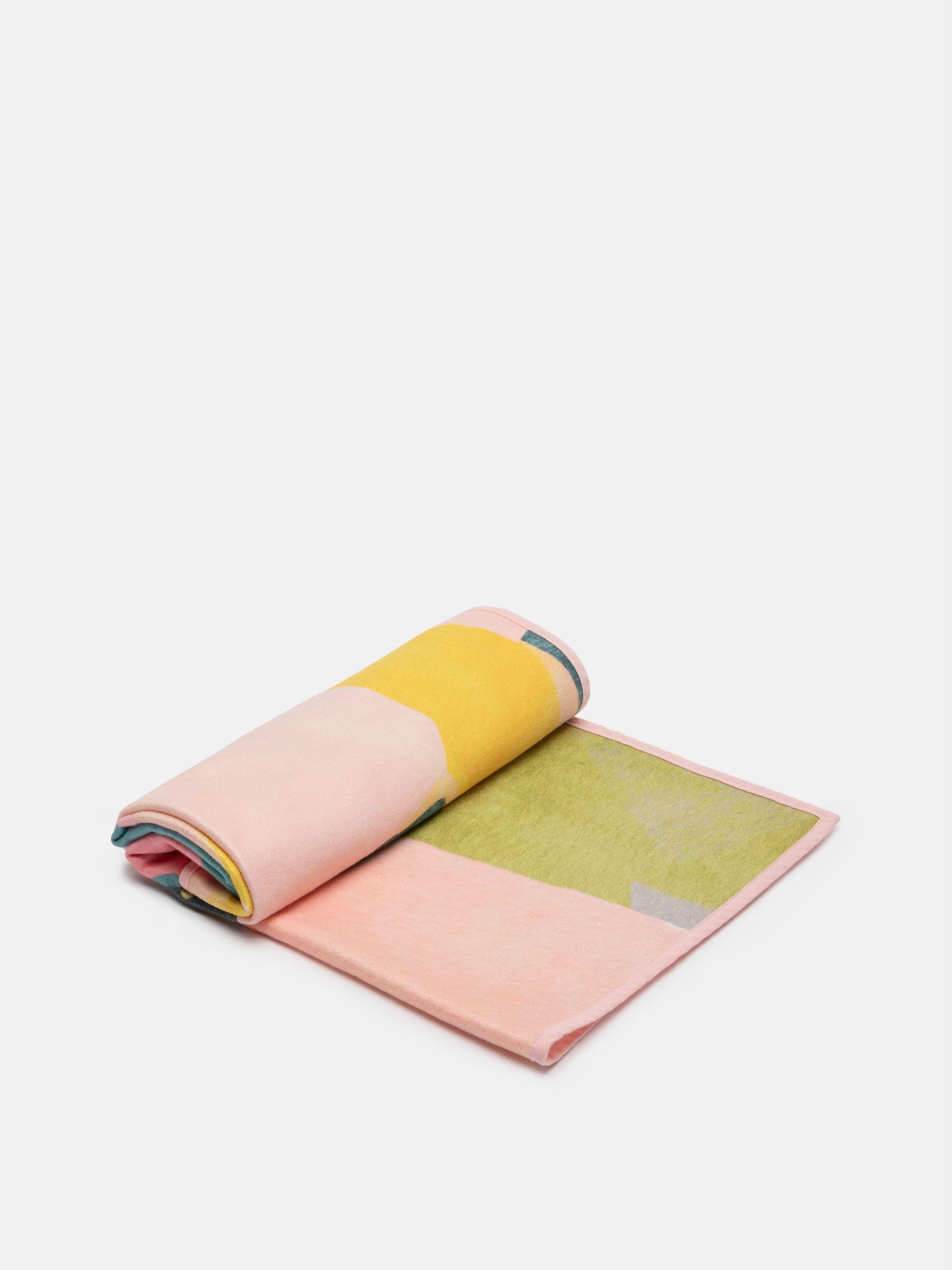 asciugamani in microfibra e cotone personalizzati