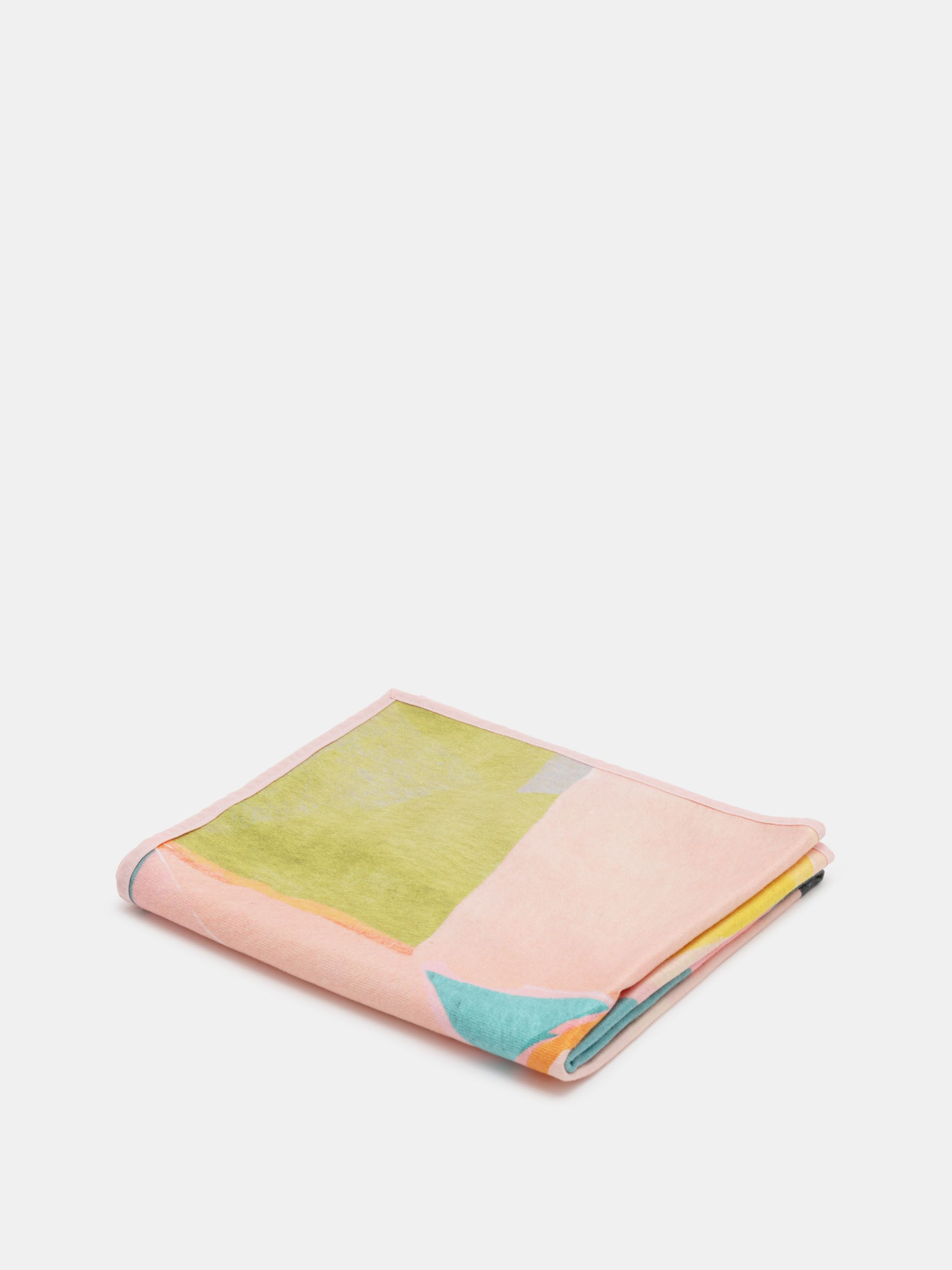 custom bath towel large binding