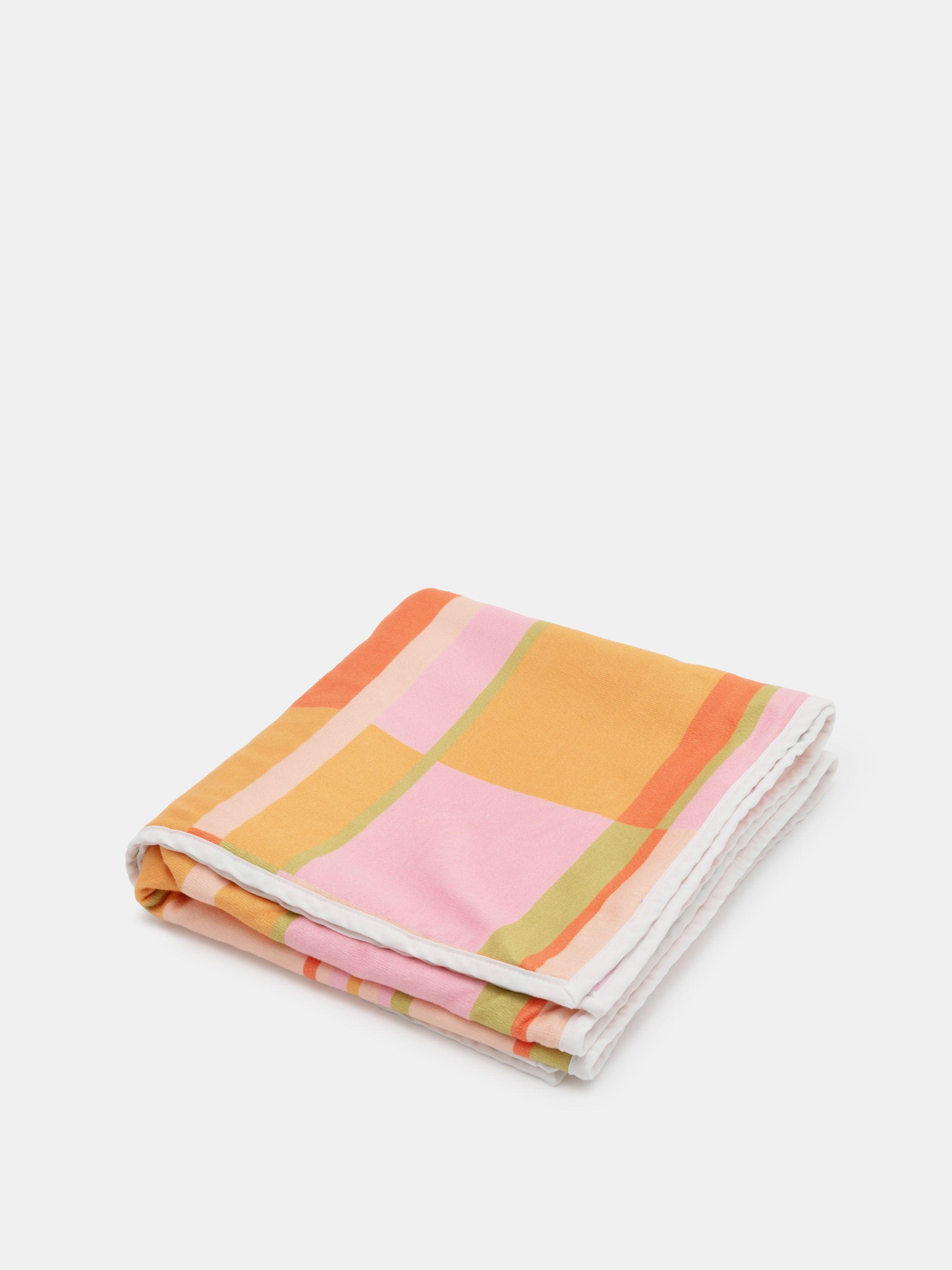 Tissu de la serviette de plage personnalisée