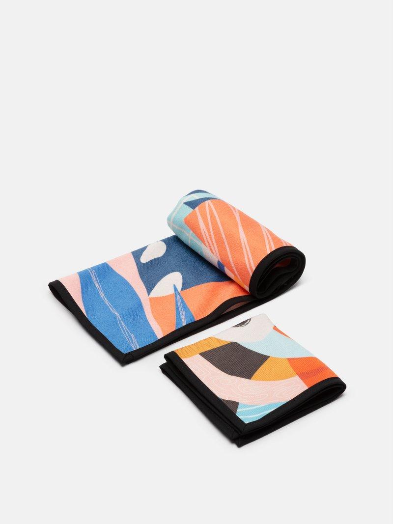 set asciugamani personalizzato