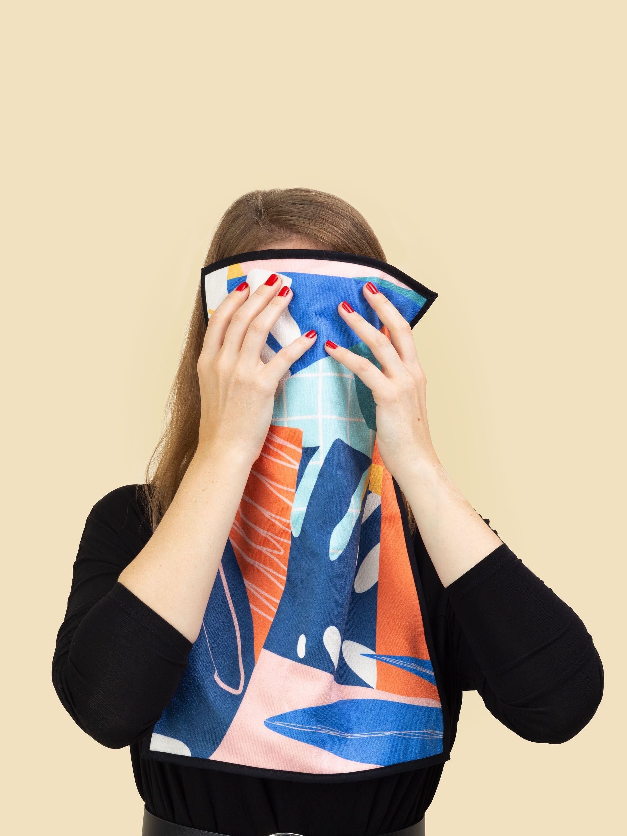 Custom Face Towels
