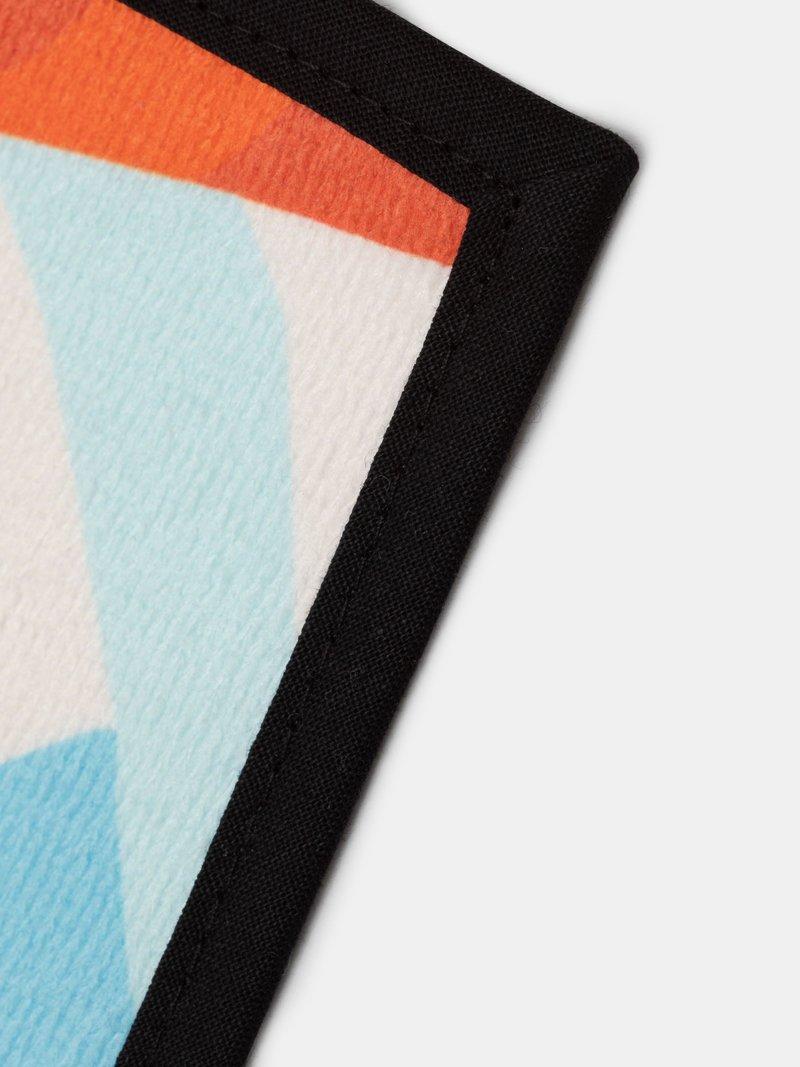 opzioni di colore per il bordo degli asciugamani personalizzati